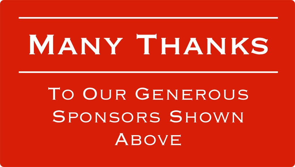 Thank You To Our 2019 Gala Sponsors